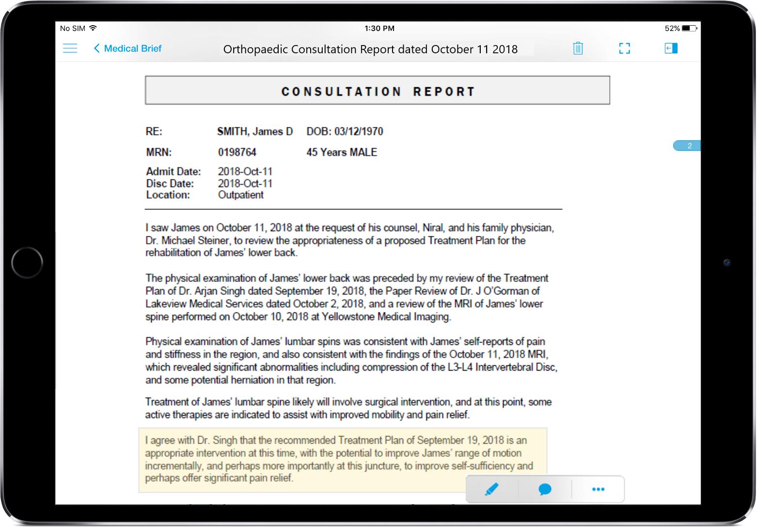 Primafact - New Document Mobile App Tablet-1